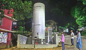 Oxygen plant set up at Chattogram General Hospital in Ctg