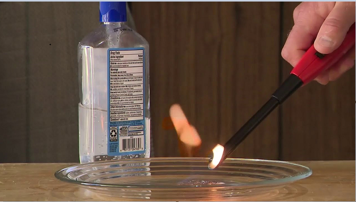 Hand Sanitizer Fire Risk: Precautions for Handling Sanitizer Safely