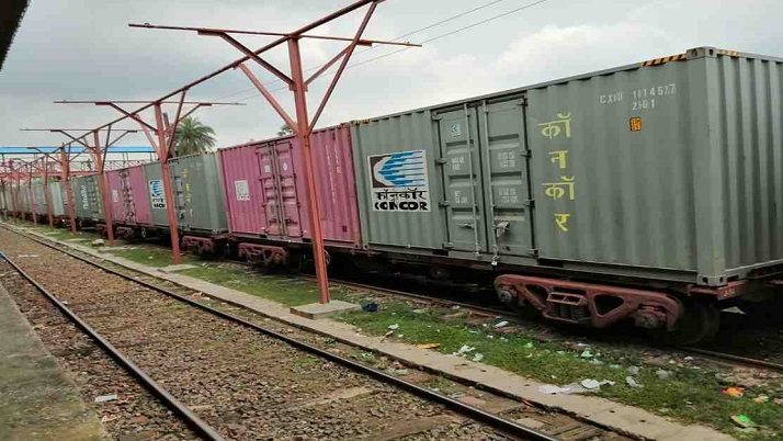 Container train service with Bangladesh to boost trade ties: India
