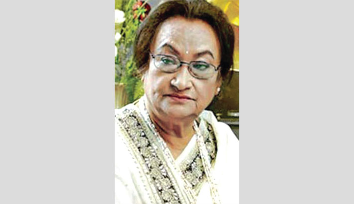 Firoza Begum's 90th birth anniversary today