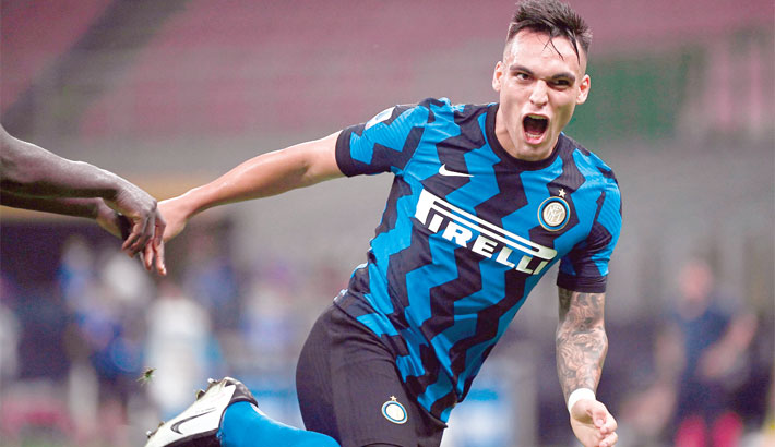 Inter stay second ahead of Atalanta in Serie A final push