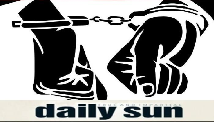 55 suspected Aggyan party members held in city