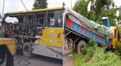 2 killed as bus, truck collide in Chattogram