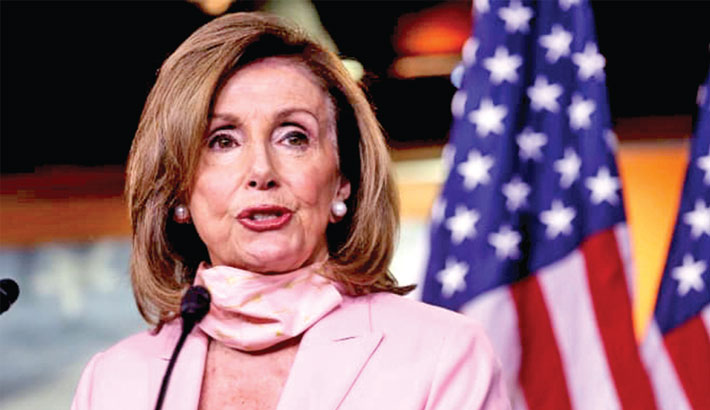 Maskless MPs may be thrown out: Pelosi