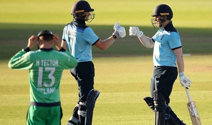 England beat Ireland by six wickets in 1st ODI