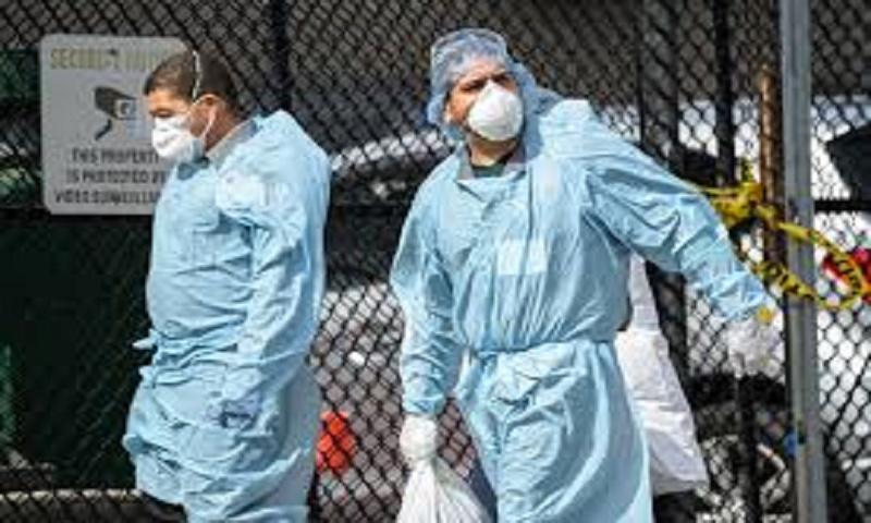 US coronavirus  hits 157,901 deaths