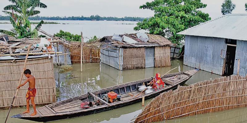 Flood situation further improves as water level recedes in Ganges basin