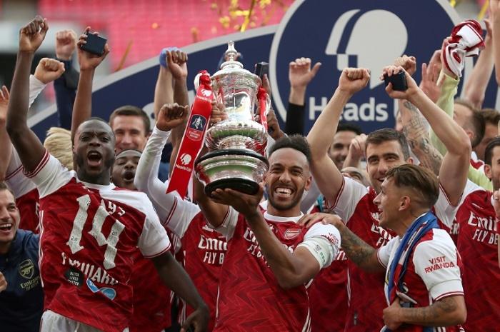 Arteta hopes FA Cup win just the start for Aubameyang at Arsenal