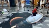 3D art festival transforms Dubai's City Walk into giant canvas