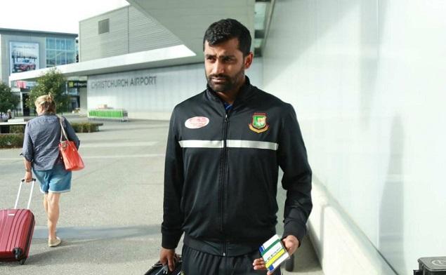 Tamim in self-quarantine after reaching Dhaka