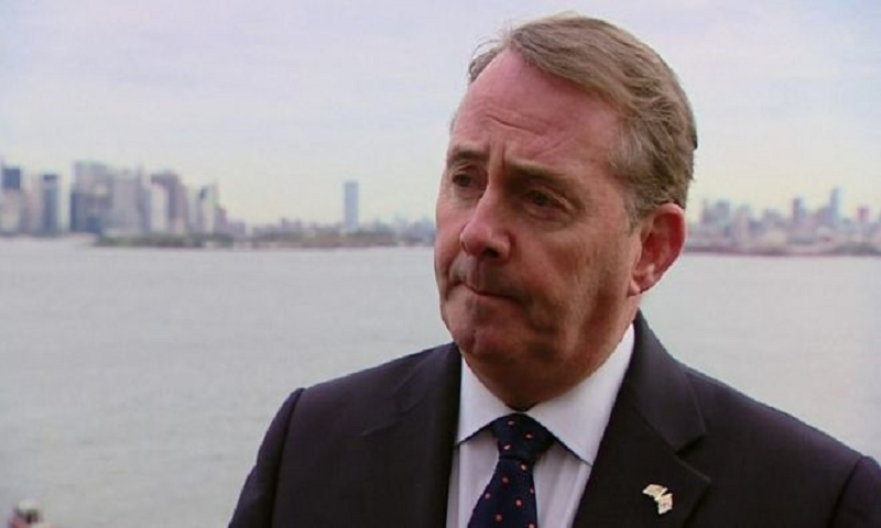 Russian hackers stole trade papers from Liam Fox email