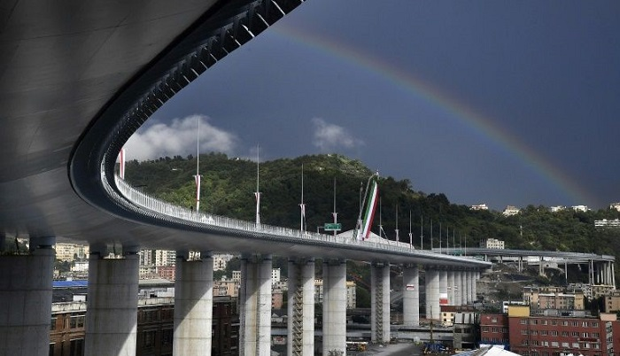 Victims 'shining like stars' as Italy inaugurates new Genoa Bridge