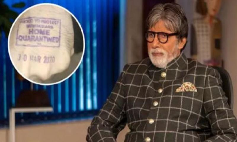 Amitabh Bachchan home quarantined after treatment for coronavirus