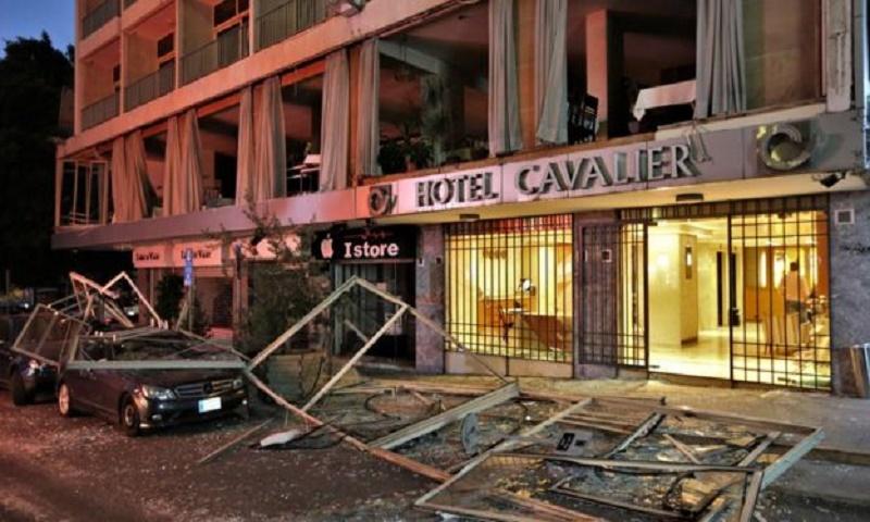 Lebanon mourns after massive Beirut blast,massive explosion