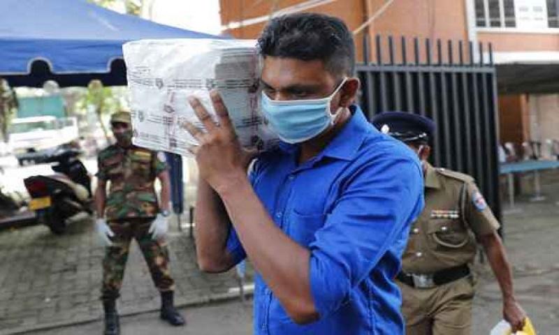Voting underway in Sri Lanka parliament election