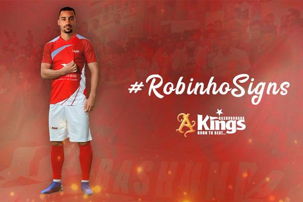 Bashundhara Kings confirm Brazilian Robinho