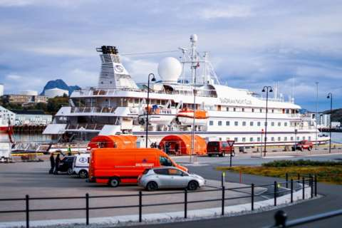 Virus fears halt another cruise ship in Norway