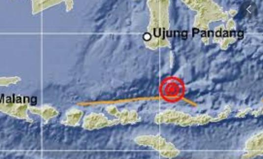 5.5-magnitude quake hits central Indonesia: USGS