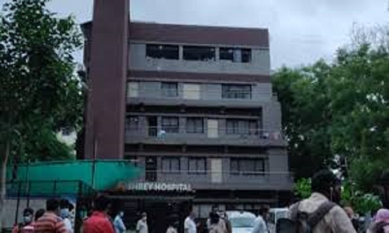 8 patients dead after fire breaks out at Covid-19 hospital in India's Ahmedabad: Official