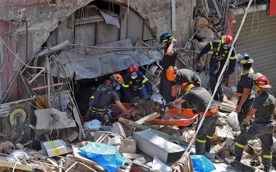 Sixteen detained over Beirut blast: prosecutor