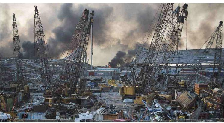 Missing for 30 hrs after Beirut blast, port worker found alive