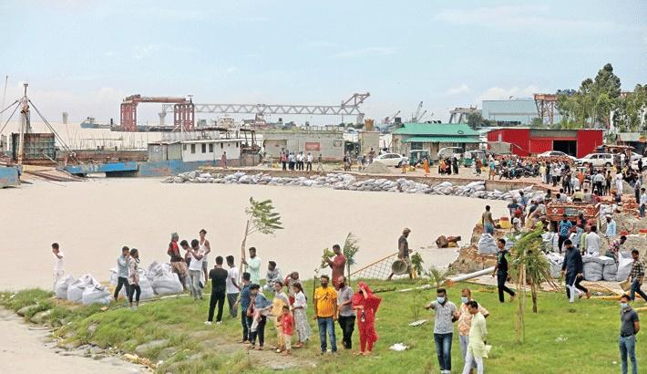Flooding, river erosion worsen