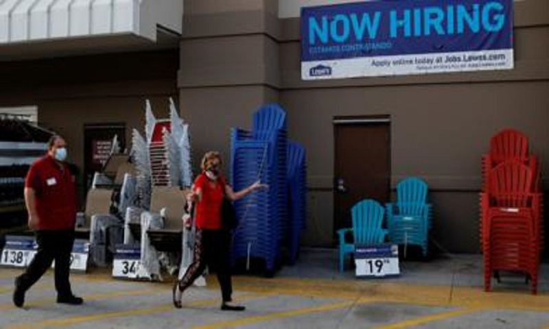 US jobs growth slows in July as pandemic takes toll
