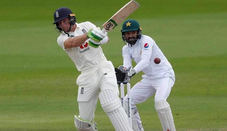 Pakistan strike before Buttler hits back for England