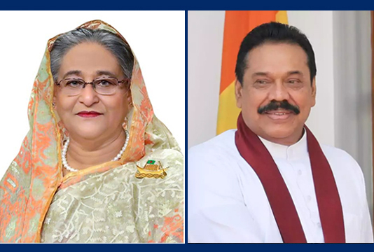 Sheikh Hasina greets Sri Lanka PM on polls victory