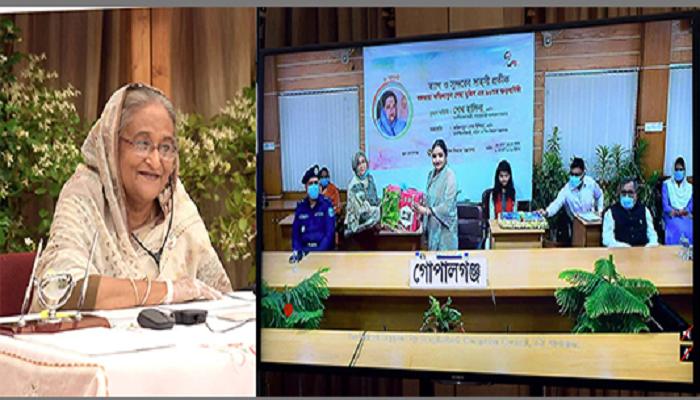 Bangamata created scope for Bangabandhu to be devoted to country: PM