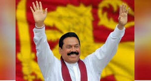 Mahinda Rajapaksa sworn in as Sri Lanka's new PM
