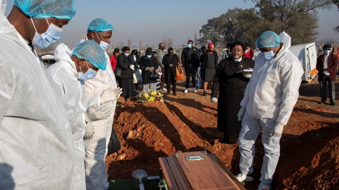 South Africa coronavirus deaths top 10,000
