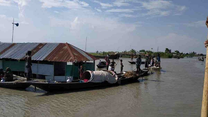 Flood situation improves further as water receding continues in Ganges basin