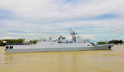 BNS Sangram off to UN Peacekeeping Mission