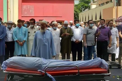 Music director Alauddin Ali laid to eternal rest