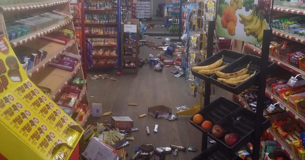 Rare quake shakes North Carolina