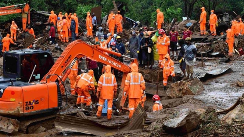 Landslide death toll rises to 43 in India's southern Kerala state