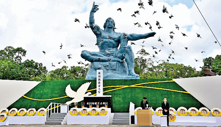 Nagasaki hopes for nuclear free world on anniversary