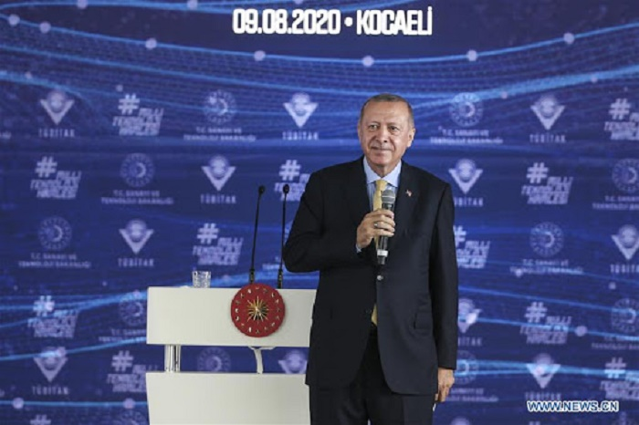 Erdogan says Turkey becomes 3rd to develop COVID-19 vaccines