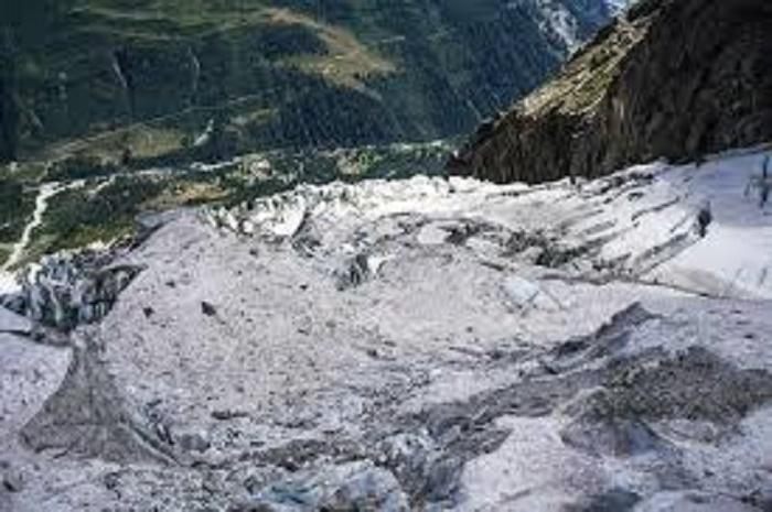 Italy resort lifts alert on melting glacier threat