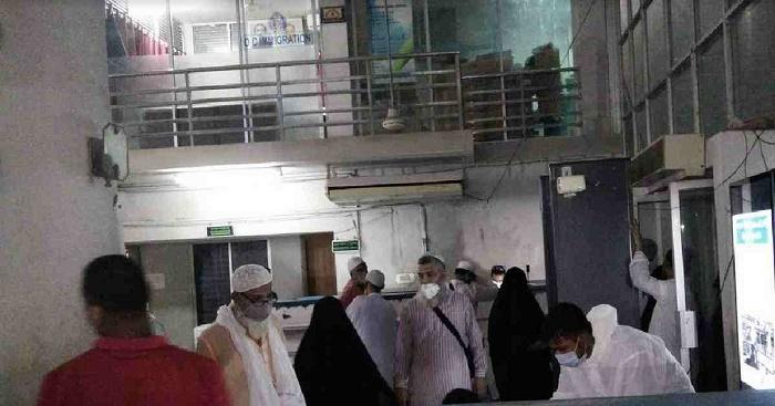 17 Tablig jamaat members return from India