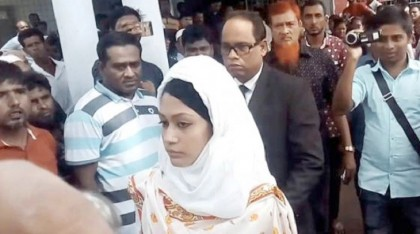 Rifat murder: victim's wife Minni, co-accused appear before court after five months