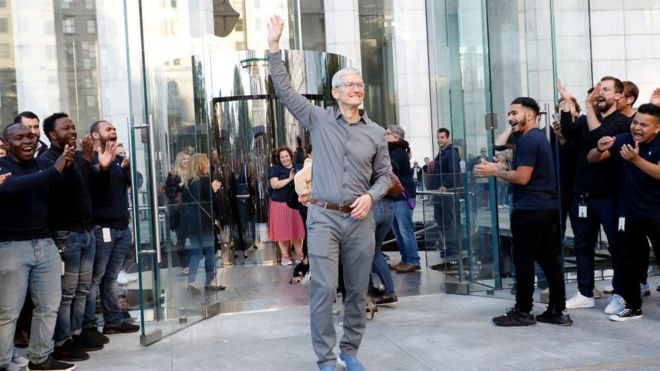 Apple boss Tim Cook joins the billionaires club