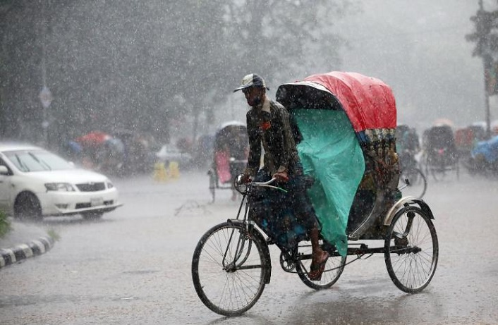 Light to moderate rain likely: Met Office