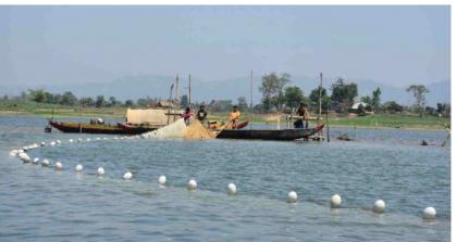 Fishing resumes in Kaptai Lake after 90-day ban