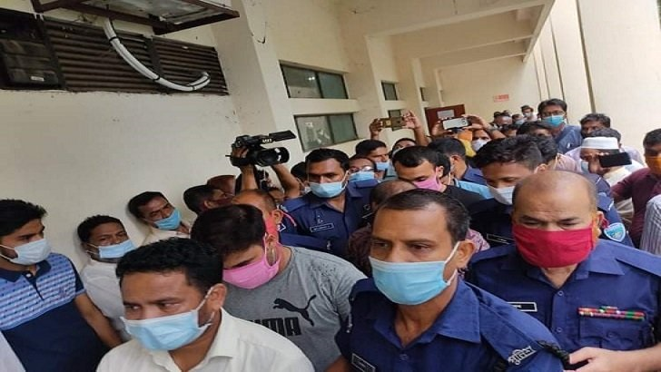 Sinha murder case: Seven accused including four cops put on seven-day remand