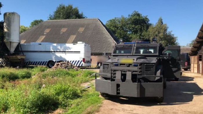Netherlands' largest cocaine lab found in former riding school