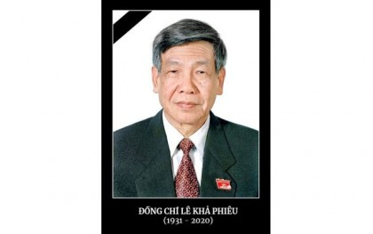 Vietnam Embassy opens online condolence book on Le Kha Phieu