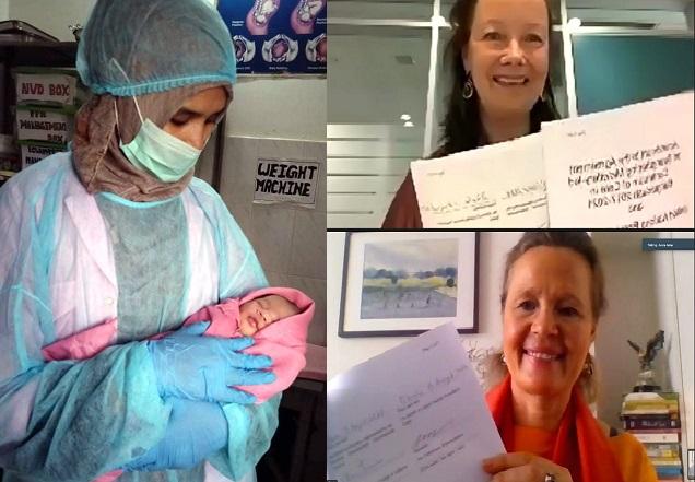 Swedish supports for corona, midwifery responses in Bangladesh