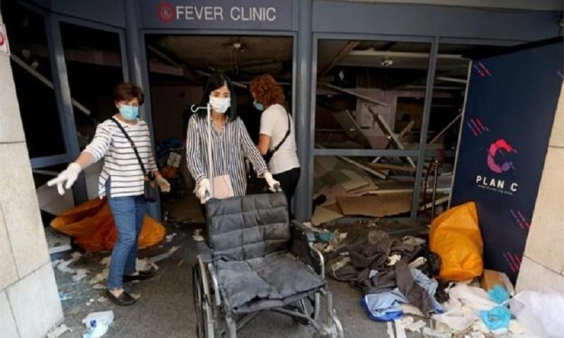 Beirut blast: WHO warns dozens of health facilities 'non-functional'